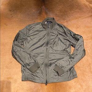 Converse Black Canvas Jacket - Medium